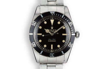 1958 Rolex Submariner 5508 Glossy Gilt Dial photo