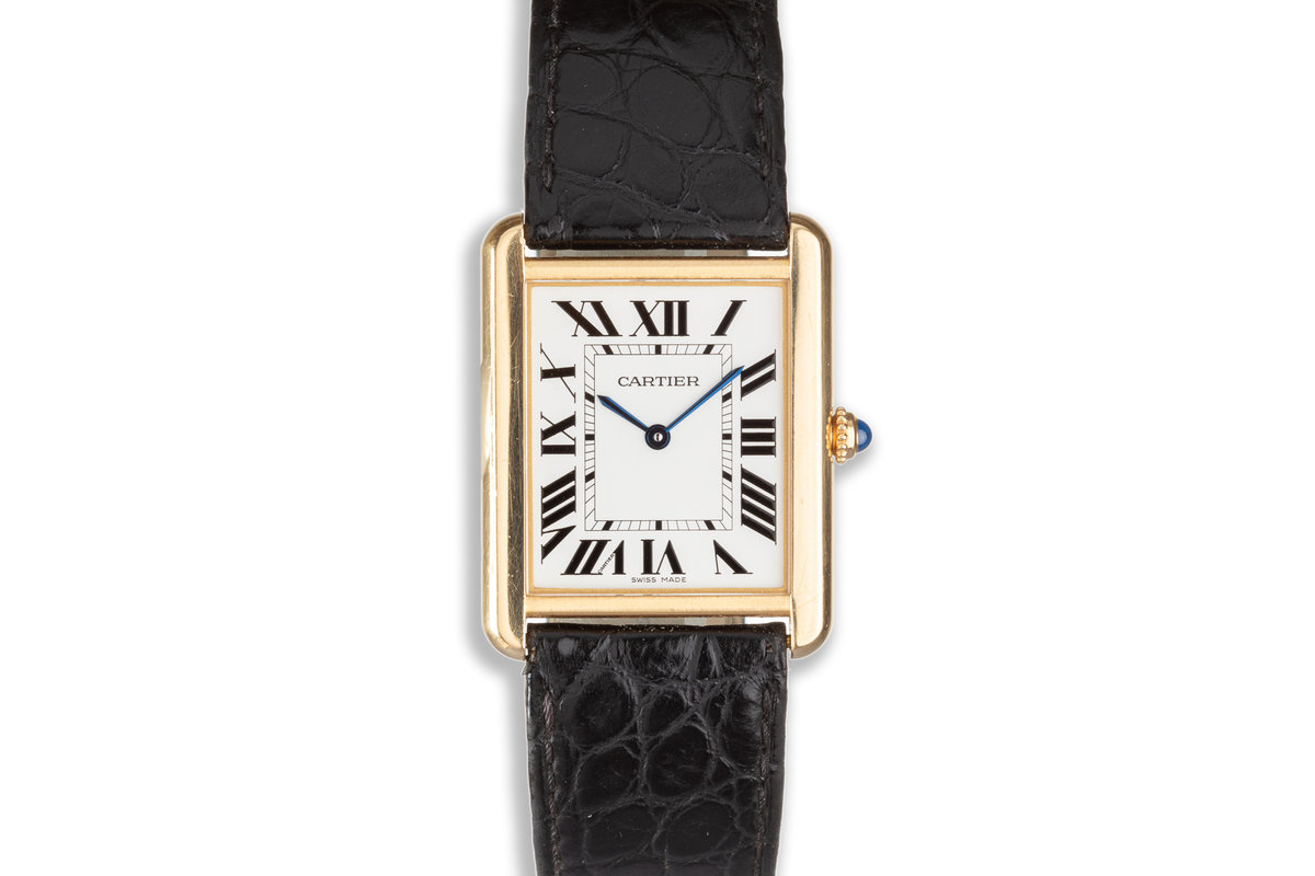 2016 18K & Acier Cartier Tank Solo W5200004 with Box & Papers photo, #0