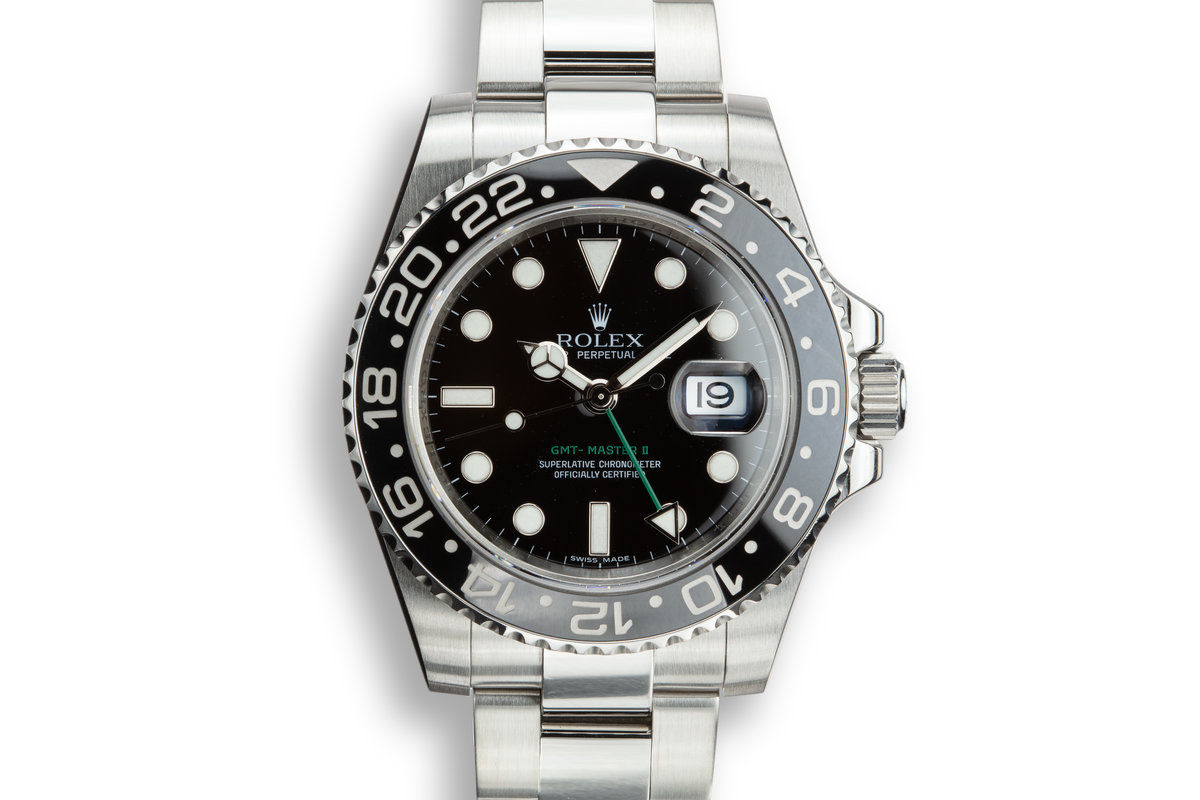 2010 Rolex GMT-Master II 116710 with Box and Papers photo, #0