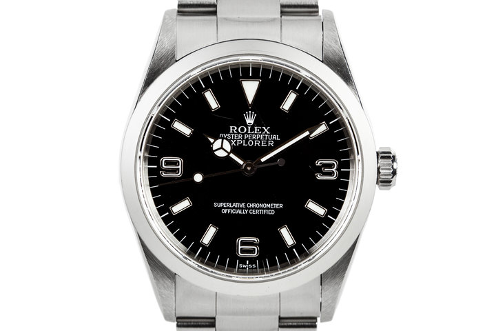 1997 Rolex Explorer 14270 Swiss Only Dial photo