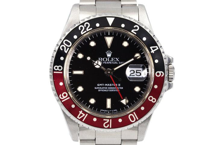 1990 Rolex GMT II 16710 photo