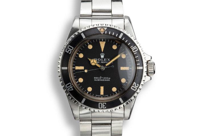 1970 Rolex Submariner 5513 photo