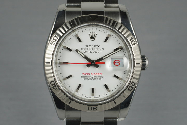 2005 Rolex Datejust Turnograph 116264 photo