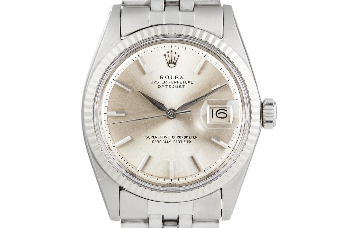 1964 Rolex Datejust 1601 with None Lume Dial and None Lume Sword Hands photo, #0