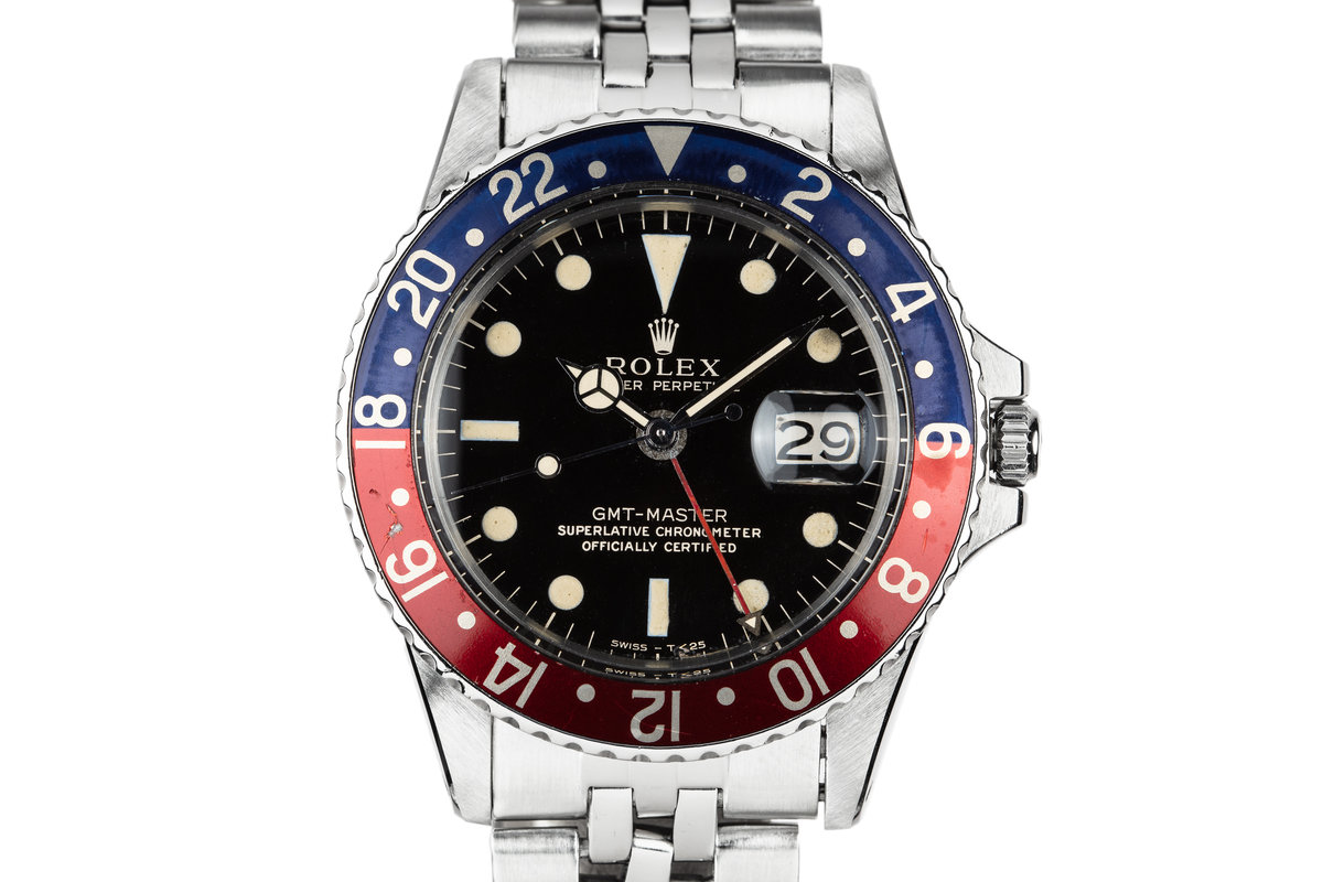1966 Rolex GMT-Master 1675 Gilt Dial photo, #0