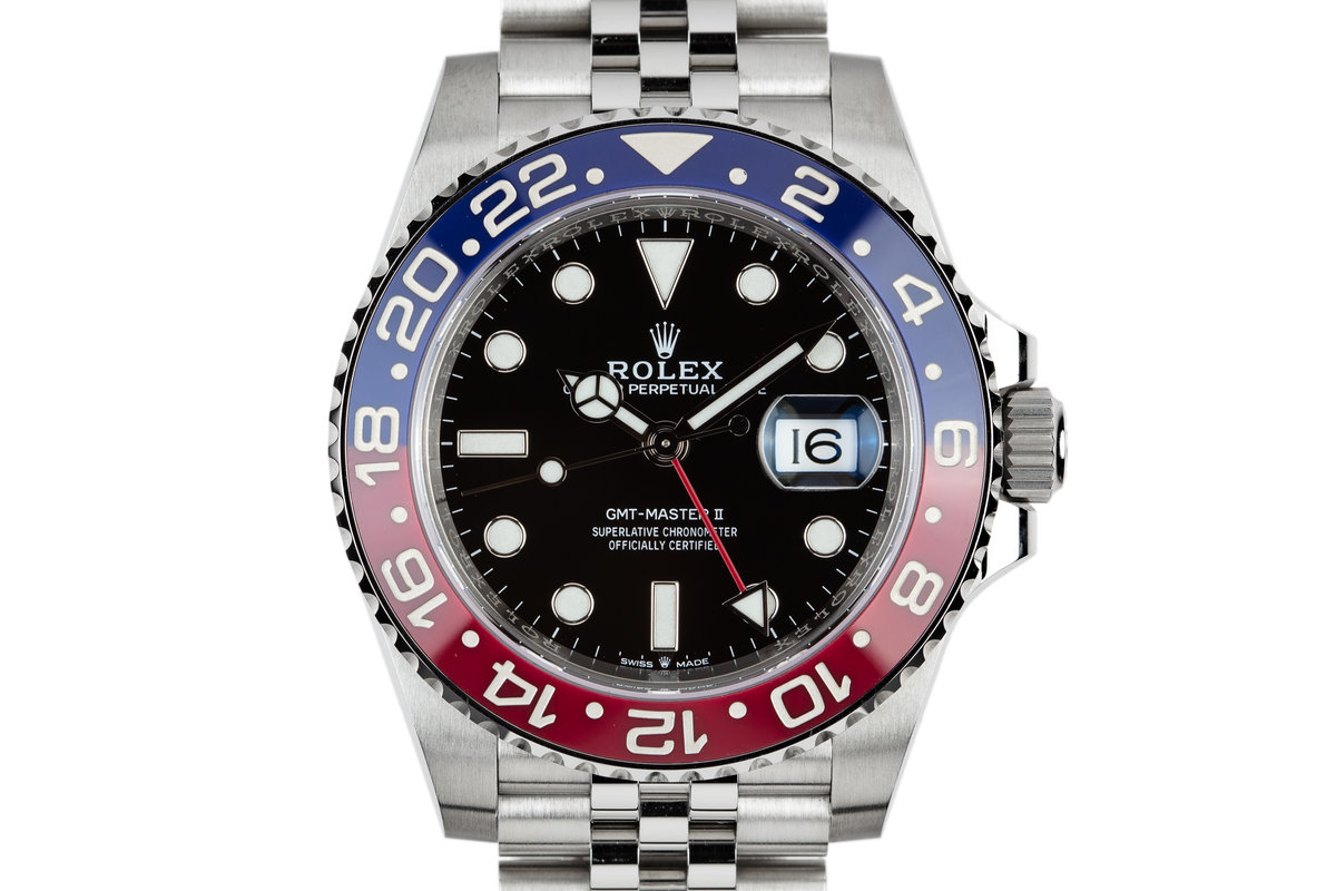 2018 Rolex Ceramic GMT-Master II 126710BLRO with Box and Papers photo, #0