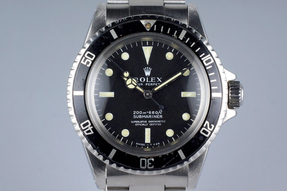 1967 Rolex Submariner 5512 4 Line Dial photo, #0