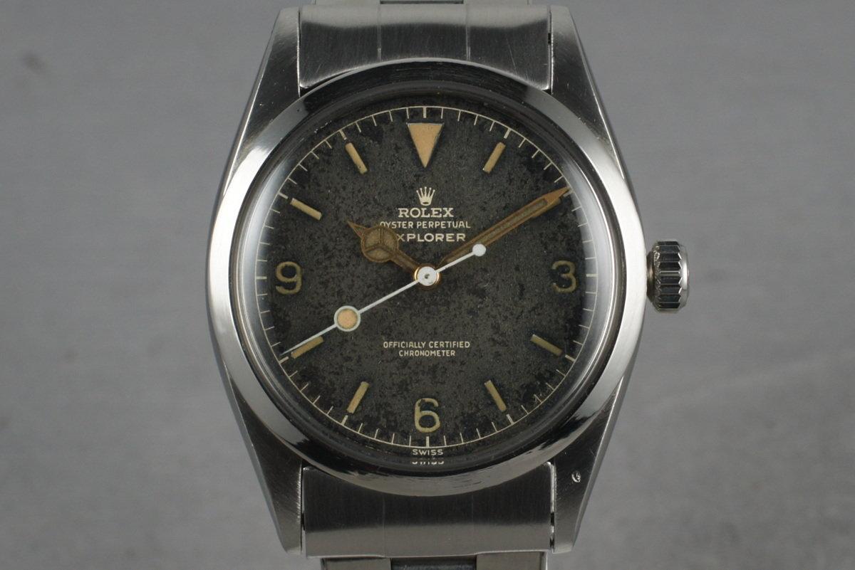 1958 Rolex Explorer 1 6610 with Gilt Dial photo, #0