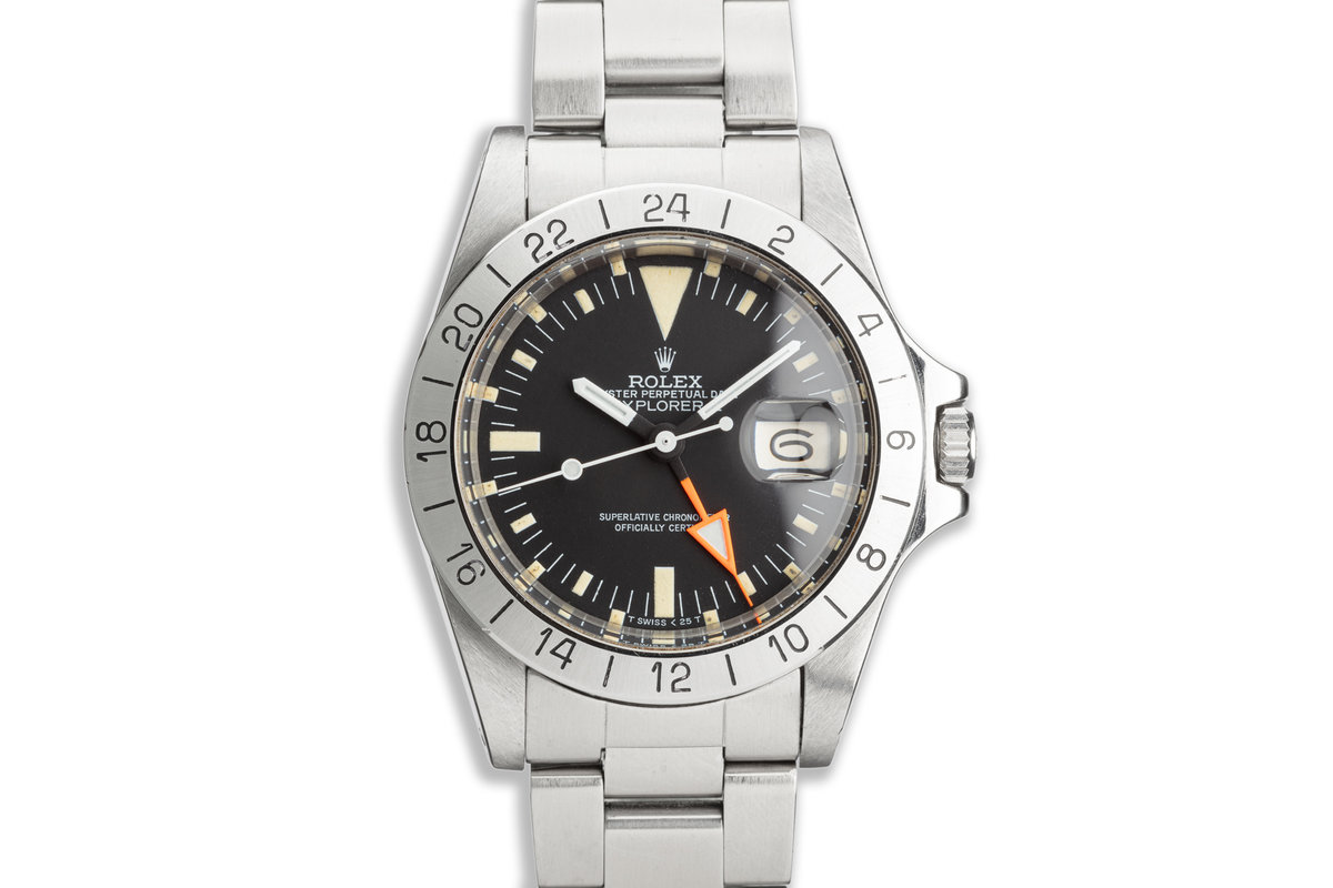 1983 Vintage Rolex Explorer II 1655 photo, #0