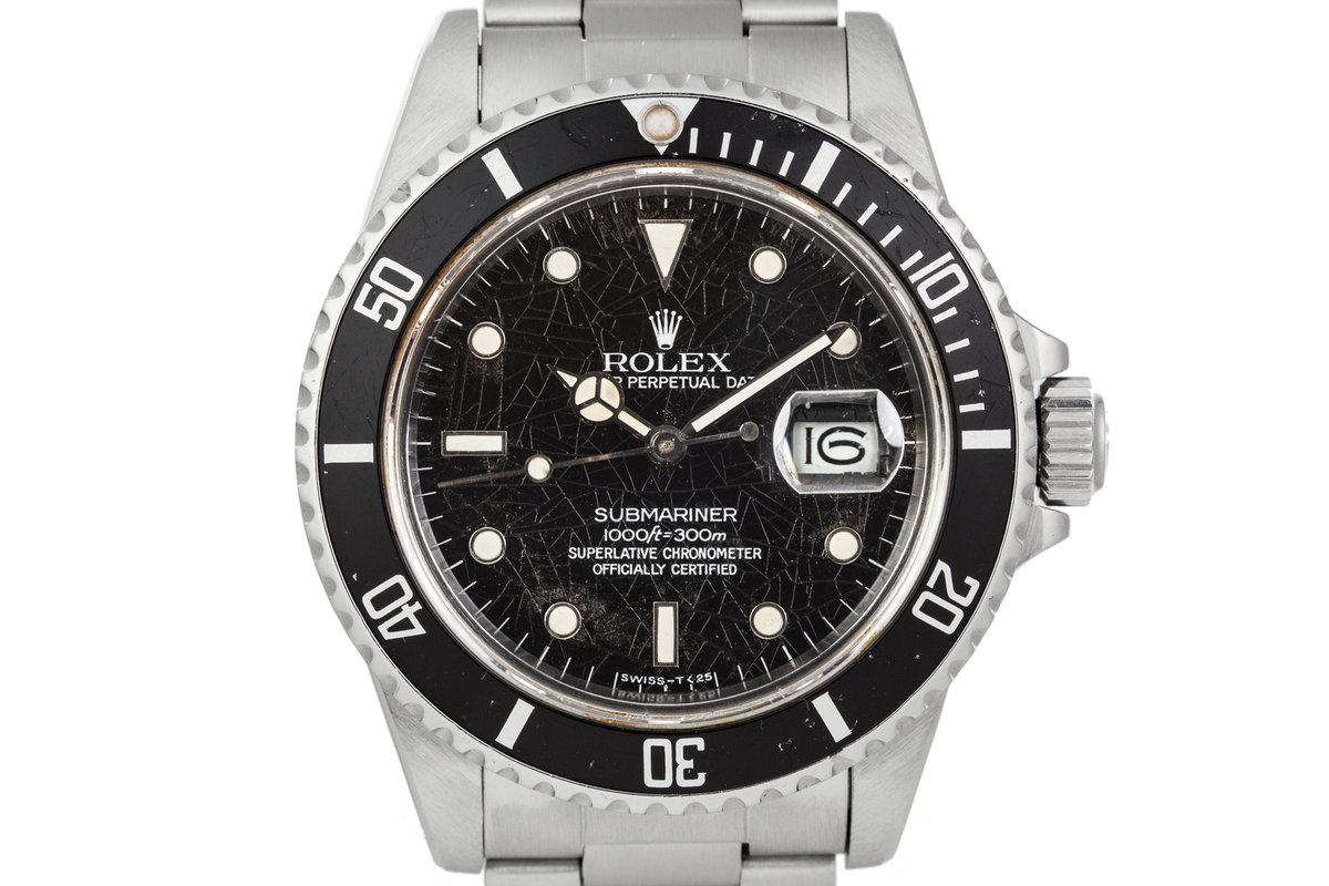 1984 Rolex Submariner 16800 Spider Dial photo, #0