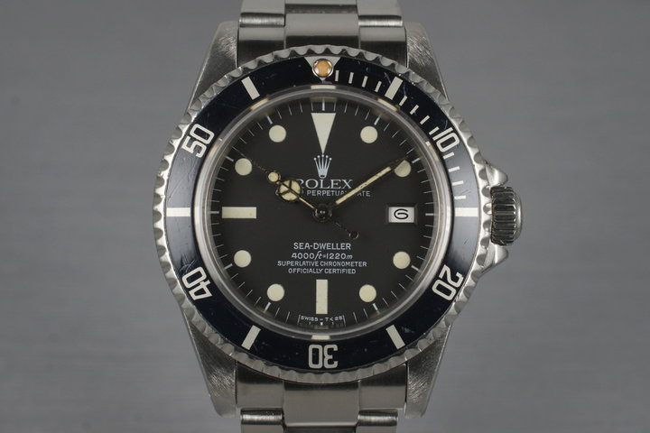 1984 Rolex Sea Dweller 16660 photo