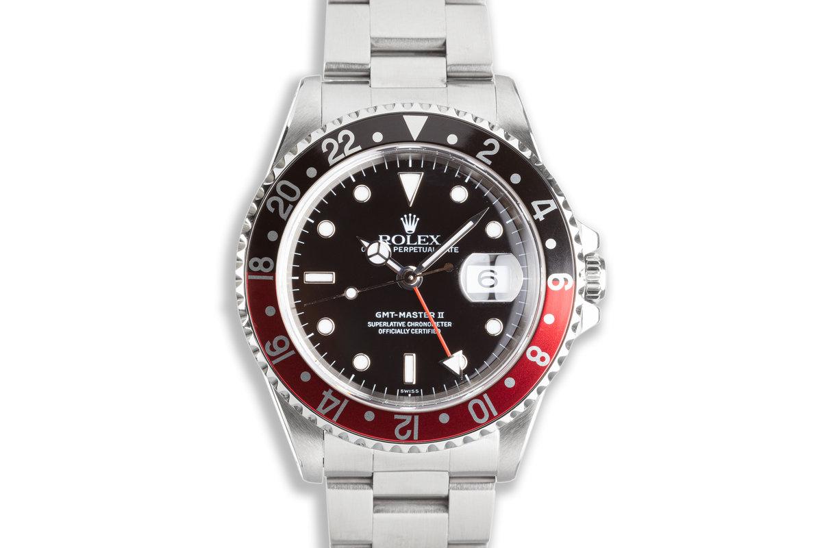 "1999 Rolex GMT-Master II 16710 ""Coke"" Bezel photo, #0"