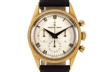 Universal Geneve White Chronograph Dial photo