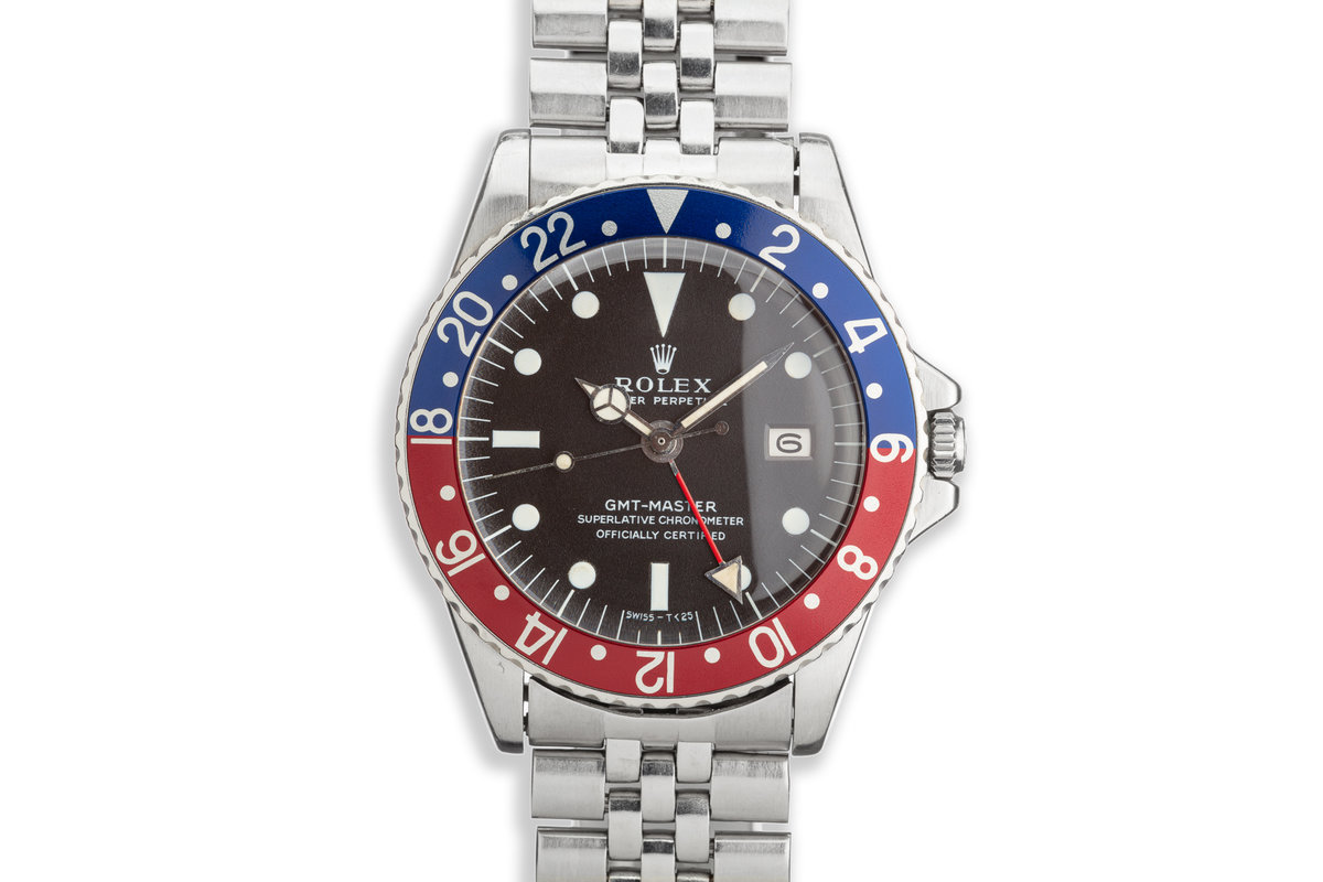 1968 Vintage Rolex GMT-Master 1675 with Box and Papers photo, #0