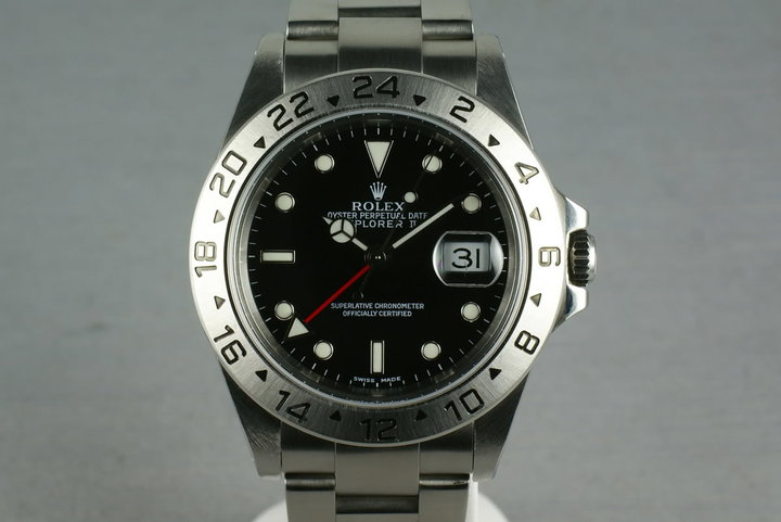 Rolex Explorer II 16570 Black Dial SEL photo
