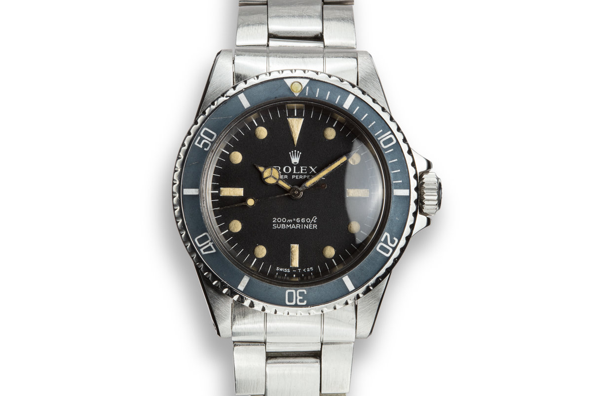 1966 Rolex Submariner 5513 Meters First Dial photo, #0