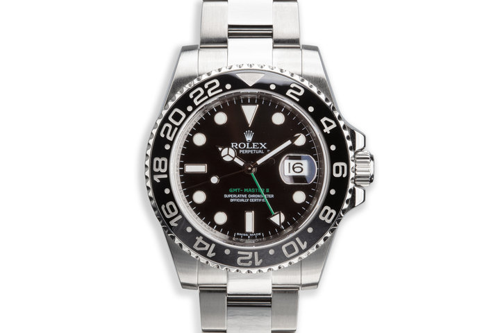 2007 Rolex GMT-Master II 116710N with Box and Papers photo