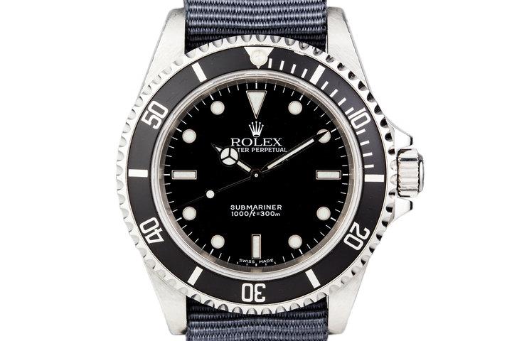 1999 Rolex Submariner 14060 No Date photo