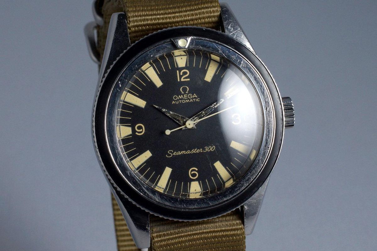 c1d83d69fc449 HQ Milton - Vintage 1961 Omega Seamaster 300 14.755-61