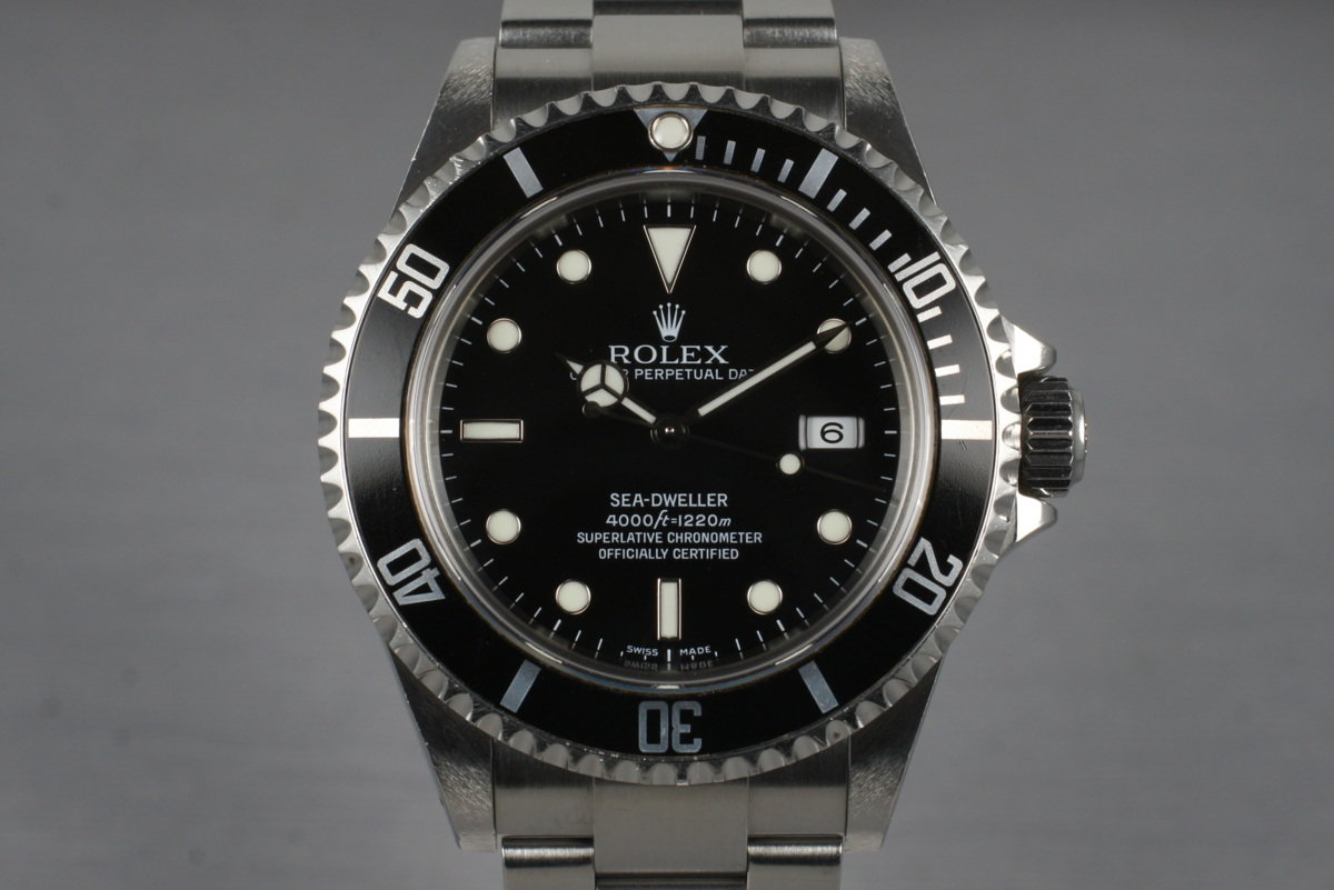 2005 Rolex Sea Dweller 16600T photo, #0