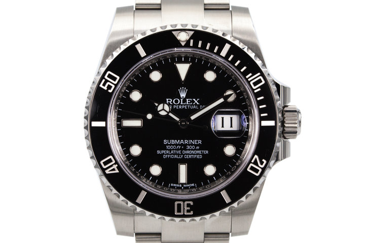 2016 Rolex Submariner 116610LN with Box and Papers photo