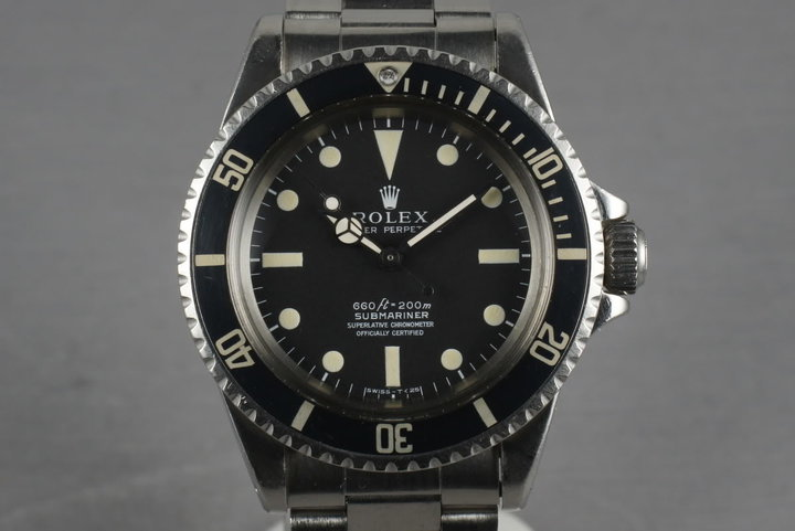Rolex Submariner  5512 with Box and Papers photo