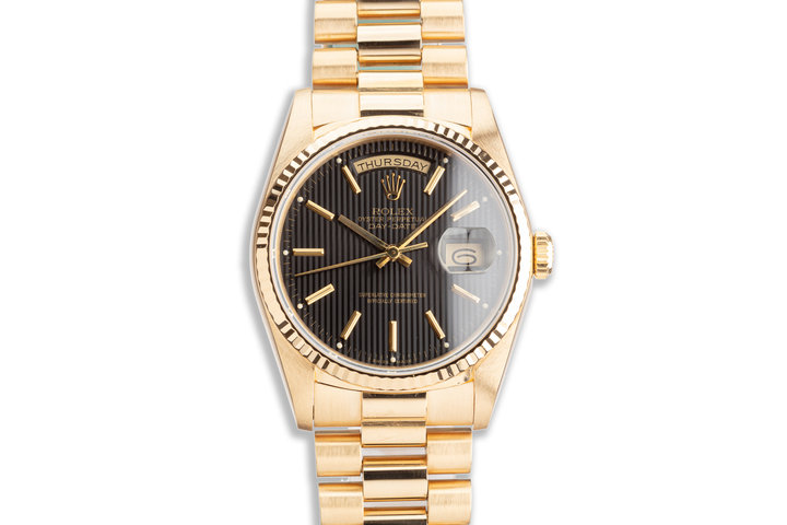 1989 Rolex 18K YG Day-Date 18238 with Box photo