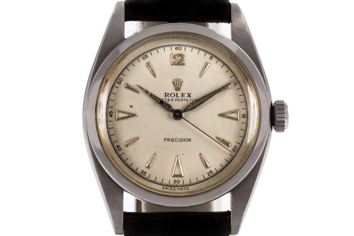1954 Rolex 6298 with Silver Dial photo