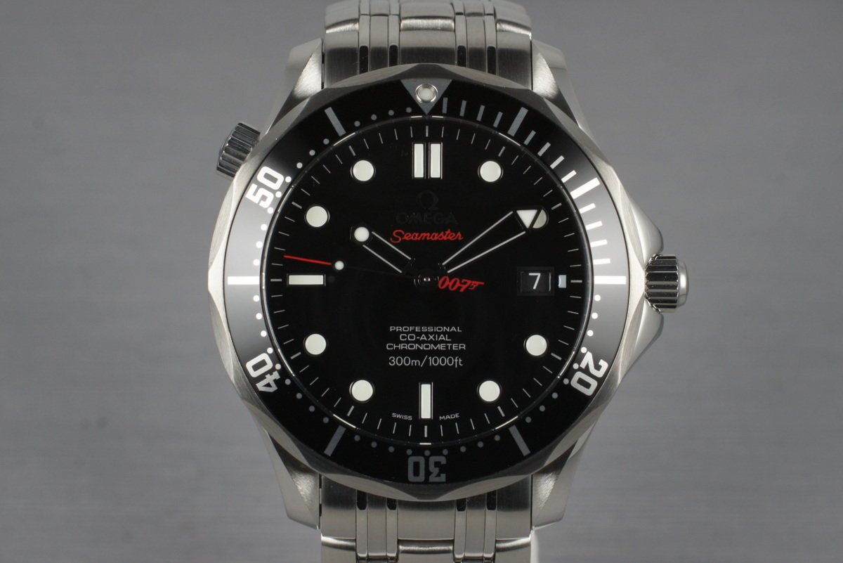 2011 Omega Seamaster Limited Edition James Bond 212.30.41.20.01.001 with Box and Papers photo, #0