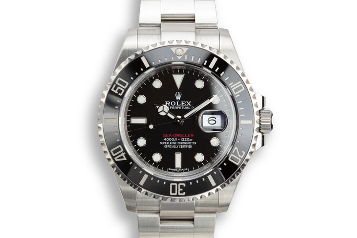2018 Rolex Red Sea-Dweller 126600 with Box and Papers photo