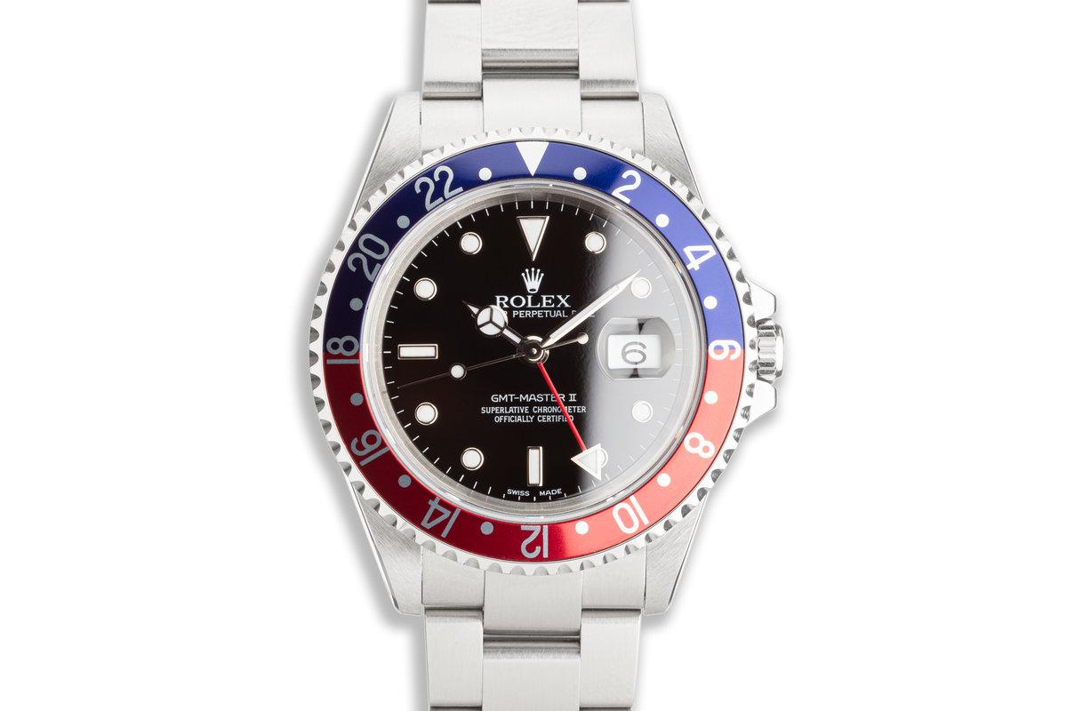 "2000 Rolex GMT-Master II 16710 ""Pepsi"" photo, #0"