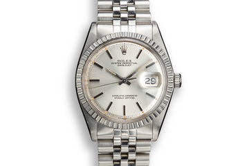 1974 Rolex DateJust 1603 Silver Sigma Dial photo