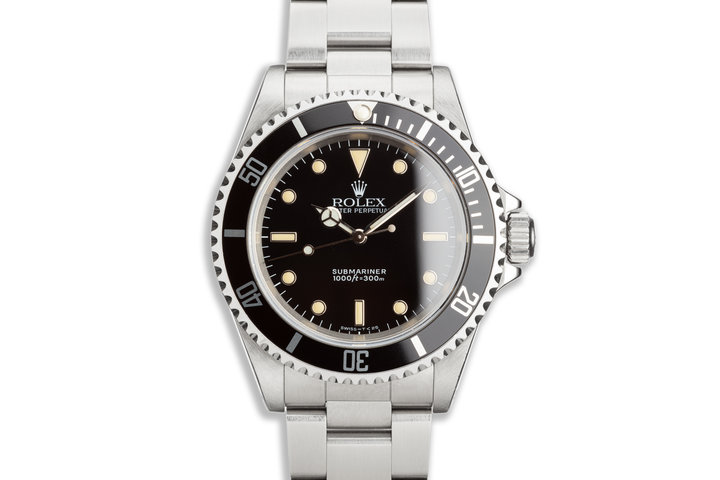 1990 Rolex Submariner 14060 with Box and Papers photo