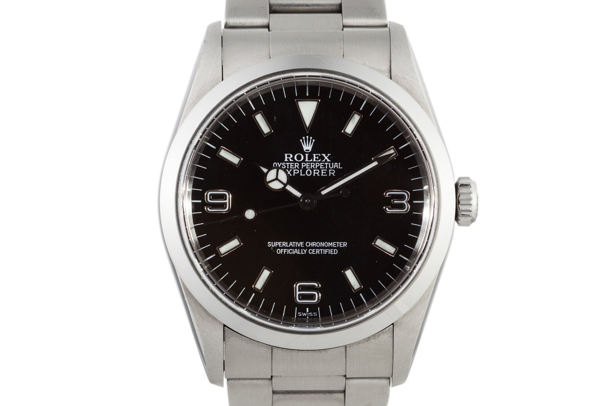 1999 Rolex Explorer 14270 with Swiss Only Dial photo, #0