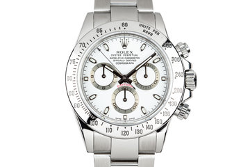 2009 Rolex Daytona 116520 White Dial with Box photo