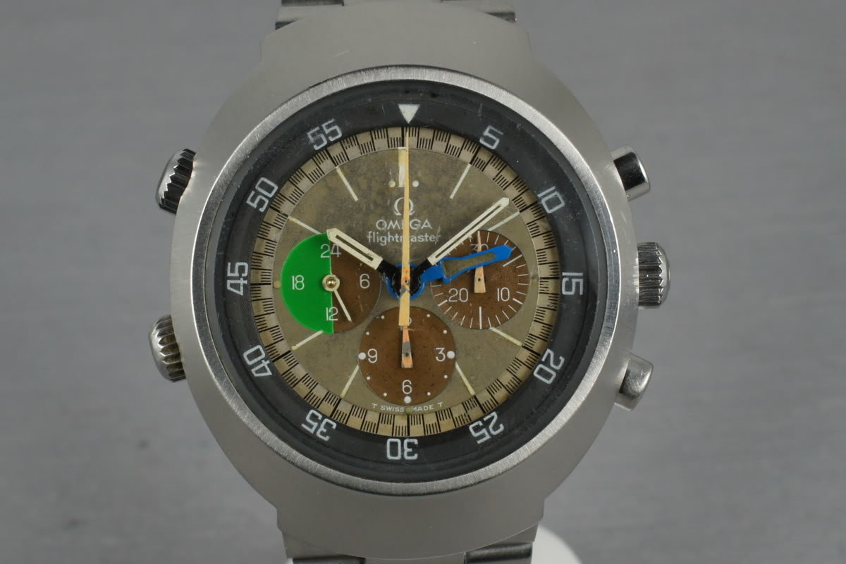 Vintage Omega Flightmaster C. 910 ST145.013 Ultra Tropical dial with Box photo, #0