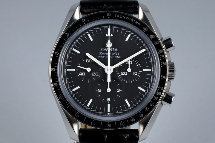 2007 Omega Speedmaster 3873.50.31 with Box and Papers photo
