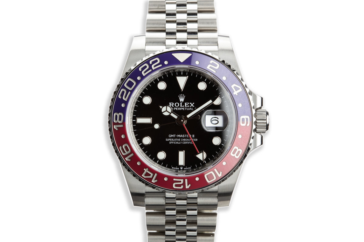 """2018 Rolex GMT-Master II 126710 BLRO MK I """"Violet"""" Bezel with Box and Papers photo, #0"""