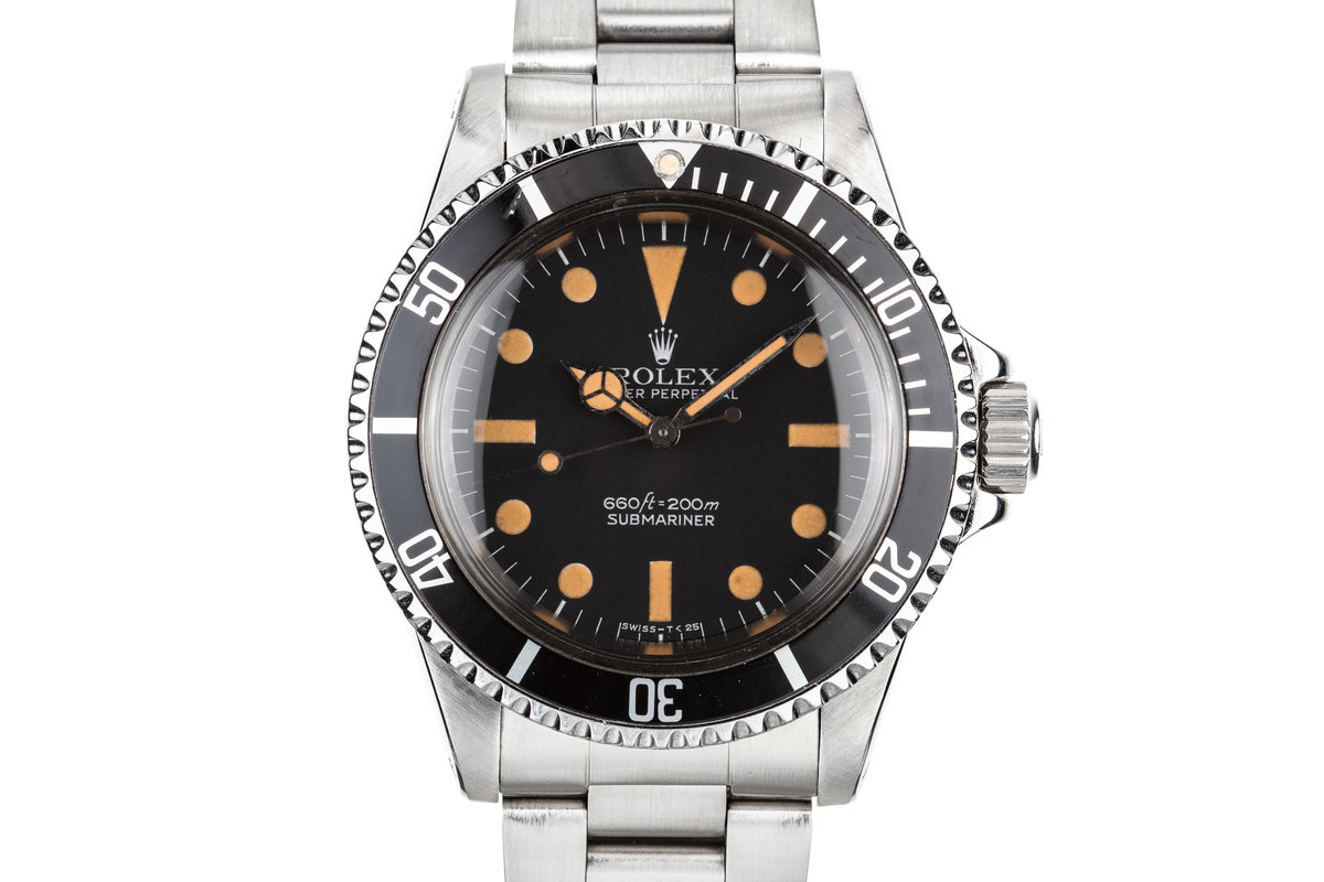 1979 Rolex Submariner 5513 with MK I Maxi Dial photo, #0