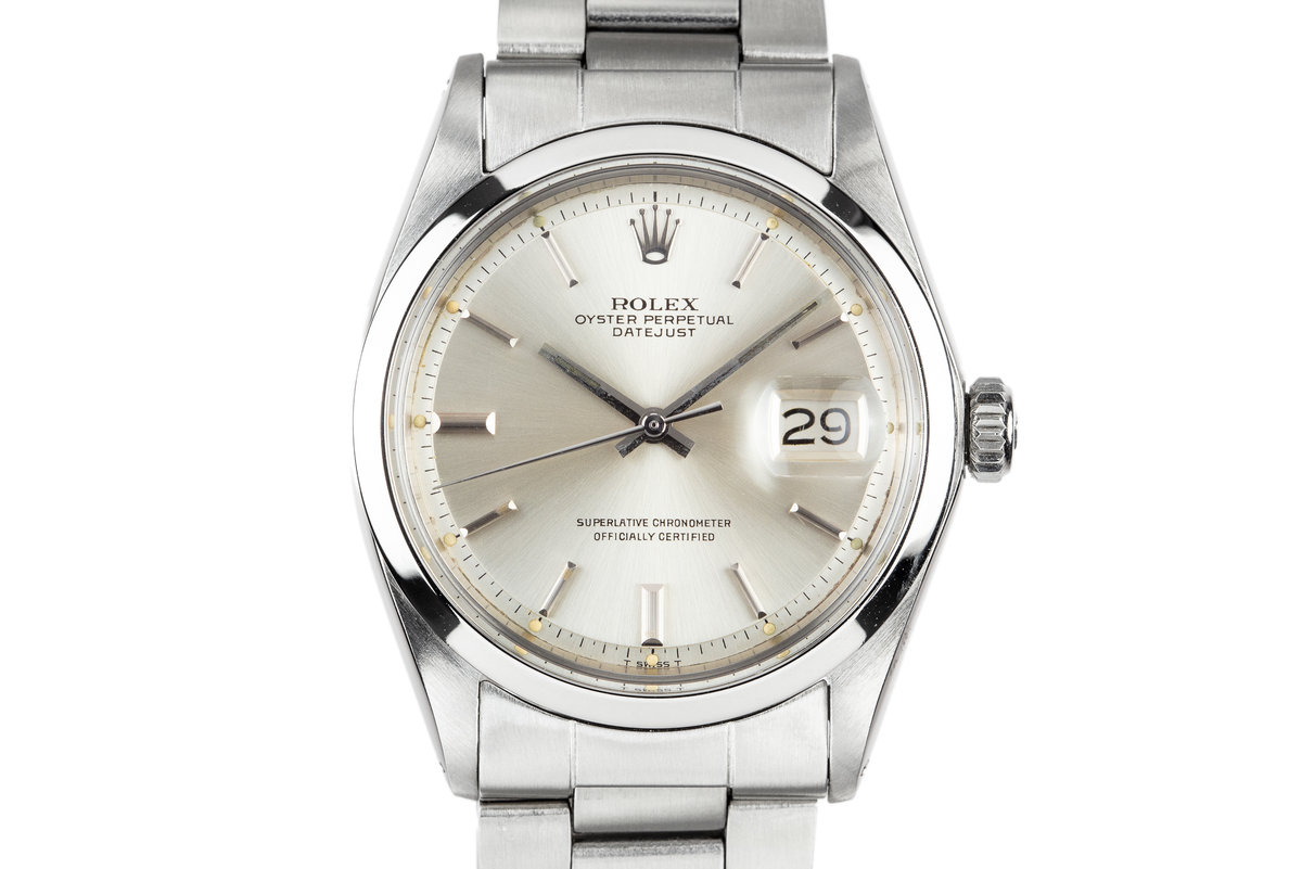 1969 Rolex DateJust 1600 Silver Dial photo, #0