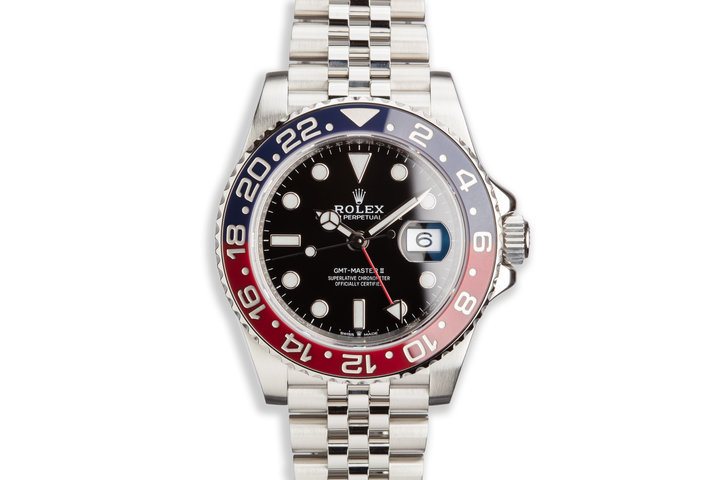 2018 Rolex GMT-Master II 126710BLRO with Box and Card photo
