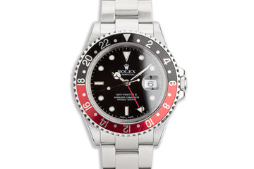2001 Rolex GMT Master II 16710 Coke Bezel photo