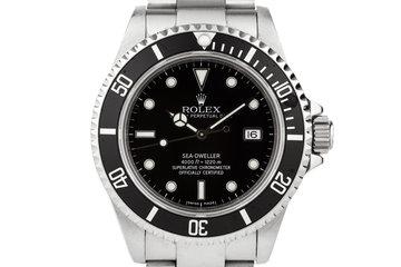 1999 Rolex Sea Dweller 16600 photo