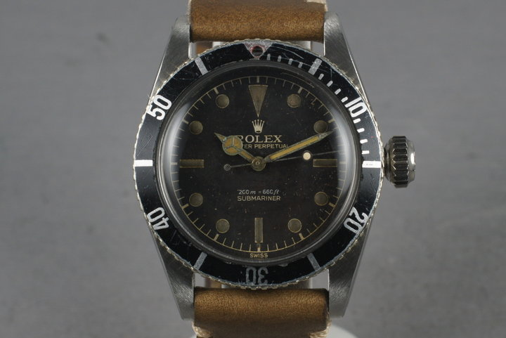 1956 Rolex Submariner Big Crown 6538 photo