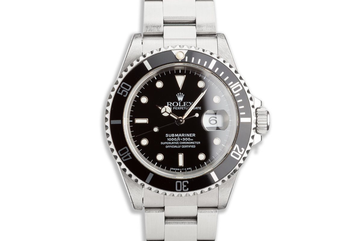 1993 Rolex Submariner 16610 photo, #0