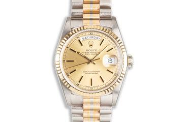 1993 Rolex Day-Date 18239B Tridor Gold Dial photo