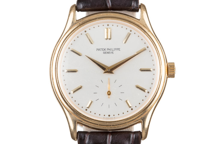 18K YG Patek Phillipe 3923 photo