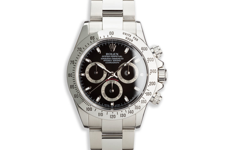 2004 Rolex Daytona 116520 Black Dial with Box photo