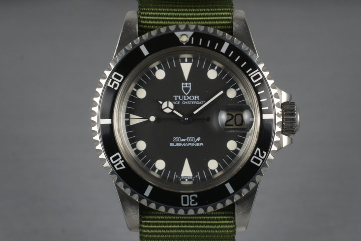 1986 Tudor Submariner 76100 with Box photo