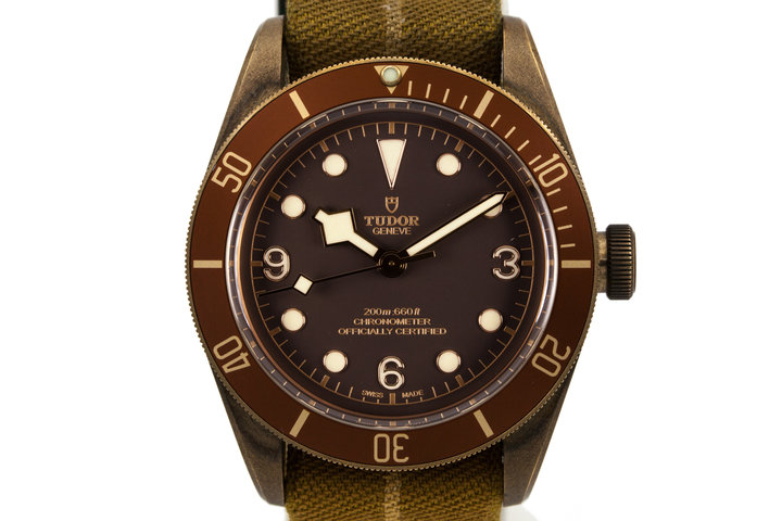 2016 Tudor Bronze Case Black Bay with Box and Papers photo
